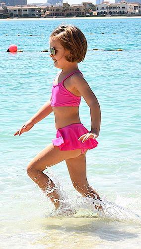Plavky ZUPPA neon pink