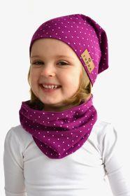 Čiapka jednovrstvová purpurová