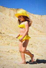 Plavky ZUPPA žlté