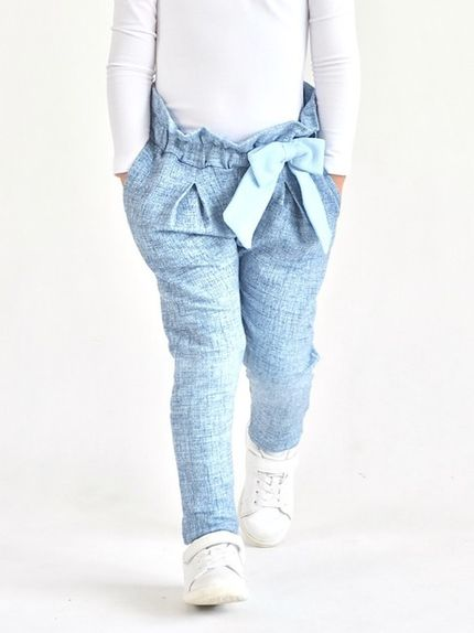 Nohavice HIGH RISE jeans light