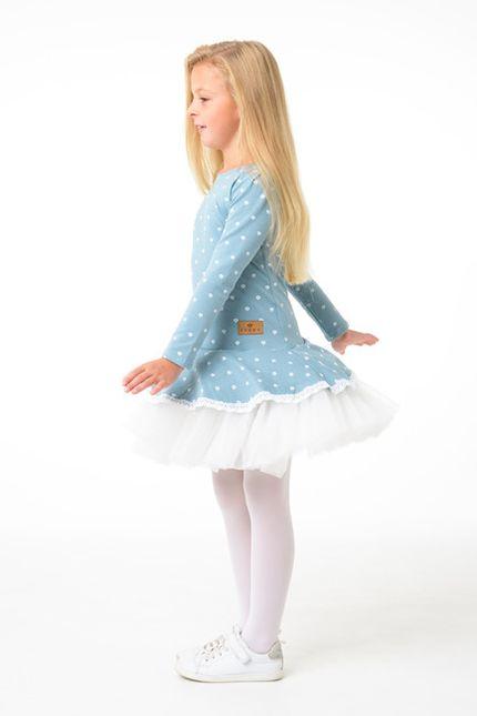 Šaty PRIMAVERA™ pudrová modrá