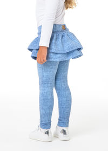 Sukňolegíny™ PEACOCK jeans light