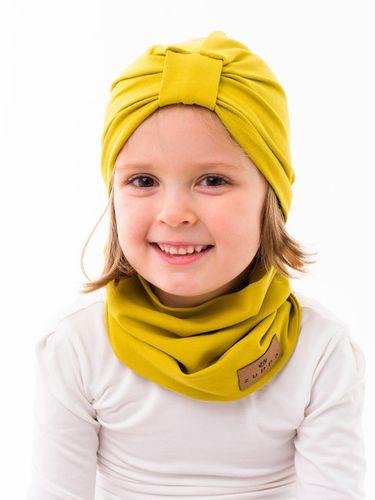 Turban jednovrstvový žltozelená