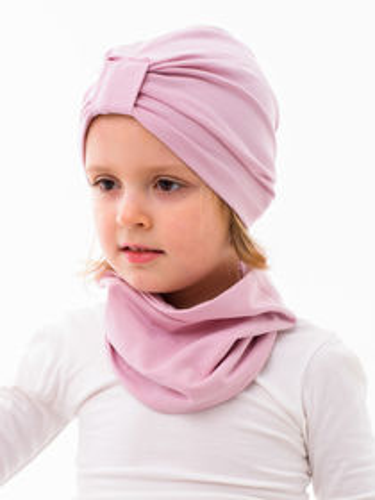 Turban jednovrstvový ružový